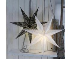 HUSS STAR - Etoile lumineuse Blanc Ø60cm - Guirlande et objet lumineux Xmas Living Glass designé par