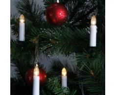 DOUBLE WIRE - Guirlande 16 bougies lumineuses à pince L12m - Guirlande et objet lumineux Xmas Living Glass designé par