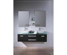 items-france TEOLIA EXPO - Meuble salle de bain contemporain teolia 153x51.5x41.5