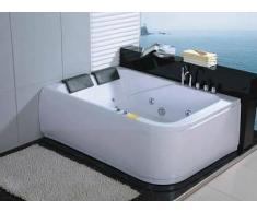 items-france MISLATA - Baignoire 2 places hydromassante 170x120x58
