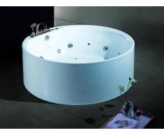 items-france AUGUSTA - Baignoire ronde balneotherapie 162x162