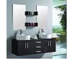 items-france LUXOR - Meuble double vasque de salle de bain contemporain