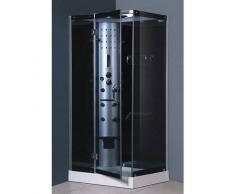 items-france KALOUA - Cabine de douche hydromassante 100x80x213