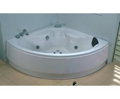 items-france DALIA - Baignoire balneo hydromassante 150x150x60