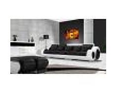 items-france HAWAI DROIT - Canape cuir droit 5 places 313cm