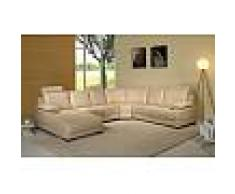 items-france KENWOOD BLANC TOUT CUIR EXPO - Canape cuir expo blanc 6 places 260x...