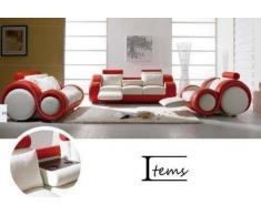 items-france LINUX 3+1 - Canape 3 places + fauteuil