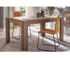 items-france NATURA T+ - Table a manger rectangulaire en bois 180x90x75cm