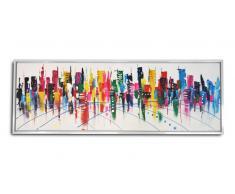 MobilierMoss Tableau peinture à l'huile 150x50 cm - Valki