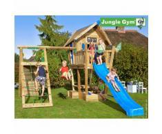 Maisonnette en bois sur pilotis Jungle Gym BAHÄRI - 11 enfants