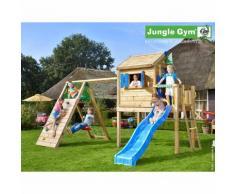 Maisonnette en bois sur pilotis Jungle Gym NÃRANGI - 11 enfants