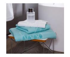 Serviette de toilette 50×100 cm wave blanc