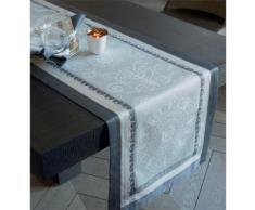 Chemin de table 52×230 cm galerie des glaces argent