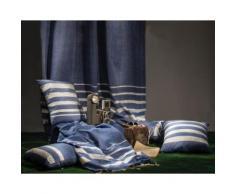 Jeté de canapé Istanbul bleu 2×2 m
