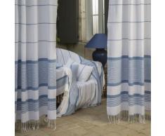 Jeté de canapé Carthage bleu 2×3 m