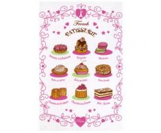 6 torchons 48×72 French patisserie