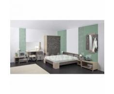 RODOS - Mobilier chambre d'hôtel matrimoniale - j) Armoire deux portes