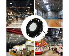 Lot de 5-200W UFO Spot LED Thare de Travail LED 24000LM Projecteur Industriel Rond IP65 Etanche pour