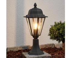 Borne lumineuse Edana Eclairage extérieur Eclairage de jardin Lanterne Gris - LAMPENWELT