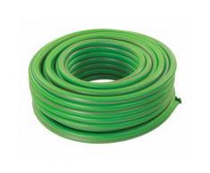 Tuyau arrosage vert PVC renforcé - 30 m - SILVERLINE