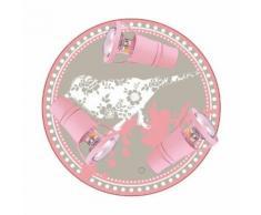 Applique Murale Enfant Romantique Rose - WALDI LEUCHTEN