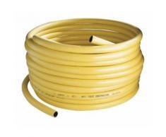 Tuyau d'arrosage antivrille jaune 50m, ø15 mm - P. OUTILLAGE