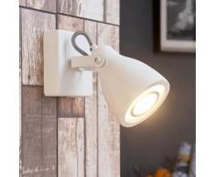 Spot mural béton spot LED GU10 plafond mur blanc réglable applique - LAMPENWELT