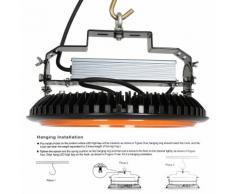 150W UFO Projecteur LED Industriel Phare de Travail Etanche IP65 de Super Luminosité 22000LM Spot