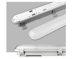 55W Tube LED 150CM Trio-Proof Eclairage Extérieur et Intérieur Imperméable IP65 Réglette LED