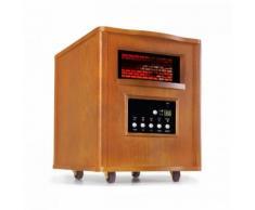 Heatbox Radiateur infrarouge chauffage 1500W minuterie 12 h chêne