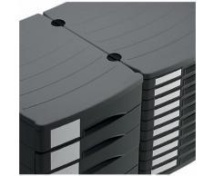 Module de classement Rotho Profile 30 (H) x 29 (l) x 38 (P) cm Noir