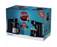 Machine à café 2-en-1 Senseo Switch HD7892/61 Noir