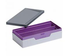 Boîte de rangement DURABLE VARICOLOR SMART OFFICE 6 2 (H) x 12 2 (l) x 23 5 (P) cm Gris violet