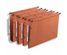 Dossiers suspendus pour armoires ELBA Orange - 25 Unités