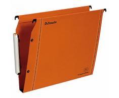 Dossiers suspendus pour armoires Esselte 49925 Orange - 25 Unités