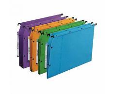 Dossiers suspendus pour armoires Oblique Ultimate Bleu - 25 Unités