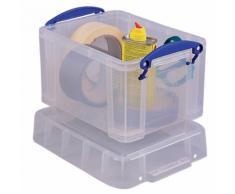 Boîte de rangement Really Useful Boxes 3 l 3 litres 16 (H) x 24 5 (l) cm Transparent