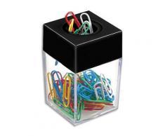 Distributeur magnétique de trombones JPC Créations - fourni avec 50 trombones coloris assortis