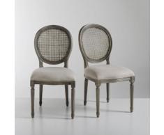 Chaise médaillon, lot de 2, Nottingham - La Redoute Interieurs