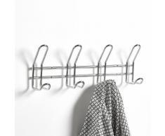 Patère 4 crochets en acier chromé - La Redoute Interieurs