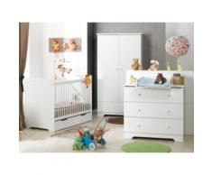 Chambre bébé complète Savana,