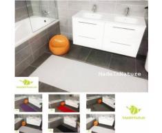 Tapis multi usages Blanc décosoft dimensions, Idéal pour cuisine, évier, salle de bain, couloir,