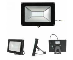 10×50W Projecteur LED Spot LED Etanche IP65 Lumière Extérieur et Intérieur 4000LM Blanc Froid