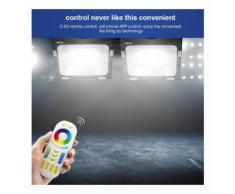 Projecteur LED RGB+CCT 30W radiofréquence RGB + WW-CW | RGB + CCT - Avec fut-089 - MI-LIGHT