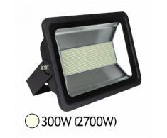Projecteur LED 300W (2700W) IP65 Blanc jour 4000°K Finition anthracite - VISION-EL