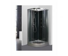 Cabine de douche 1/4 rond 90cm Solea - SANITAIRE.FR