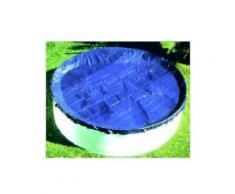 Bâche opaque piscine hors sol ovale, dimensions réelles bâche 7.00x4.00m - PISCINEO