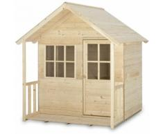 Maisonnette Enfants en Bois Outdoor Toys HideAway Cabin