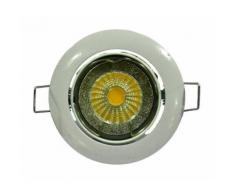 Spot a encastrer LED diametre 8,2 cm GU10 5W équivalent a 40W blanc