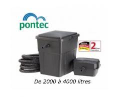 Filtration complète avec UV pour bassin de jardin : 2000 à 4000 litres - PONTEC